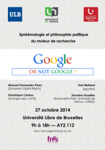 Affiche Google or not Google