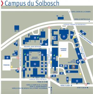 Plan Campus du Solbosch